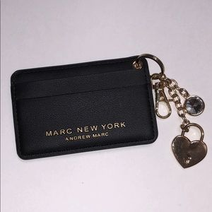 MARC NEW YORK Card holder keychain